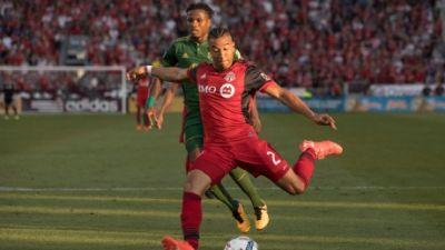 Morrow scores pair to help keep TFC's home unbeaten record intact
