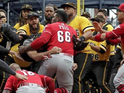Dietrich's admiration of home run leads to brawl