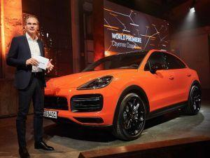Porsche Cayenne Coupe Unveiled Will Rival BMW X6 and Merc GLC Coupe