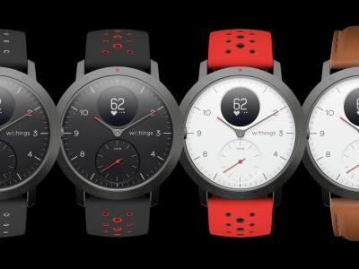 Withings relaunches its brand with hybrid Steel HR Sport smartwatch