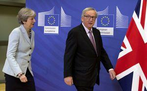 The Latest: May: Brexit deal ensures no hard Irish border