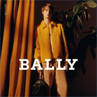 Marc-André Turgeon Goes Retro for Bally Spring '18 Campaign
