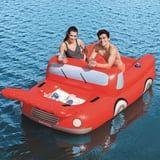 You and Your Drink Can Chill on This Truck Pool Float - It's Secretly a Giant Cooler!