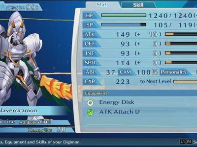 How To Increase ABI In Digimon Story: Cyber Sleuth - Hackers Memory