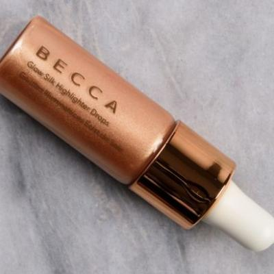 Becca Champagne Pop Glow Silk Highlighter Drops Review & Swatches