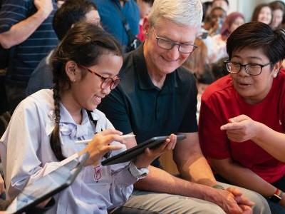 Tim Cook's tour of Asia continues in Thailand after Japan and Singapore
