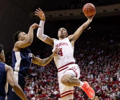 IU basketball puts one foot into NCAA tournament with win over No. 9 Penn State