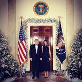 Melania Trump's Custom Holiday Dress Is the Exact 1 You've Been Searching For in Stores