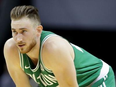 Celtics F Gordon Hayward down with scary injury