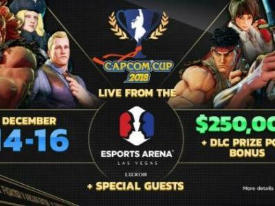 Capcom Cup 2018 Will Be Held in Las Vegas