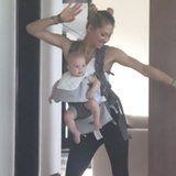 Anna Kournikova Dances to Enrique's Music With Their Daughter in an Adorable New Video