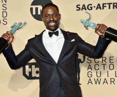 Powerhouse Sterling K. Brown is cleaning up this year's award season