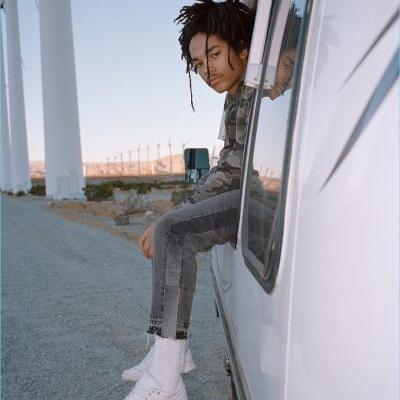 Luka Sabbat Embraces Palm Springs Vibe for The Kooples Spring '18 Campaign