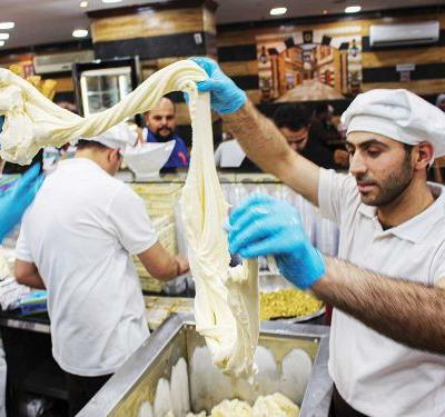For Syrians in Jordan, Booza Is a Sweet Taste of Home