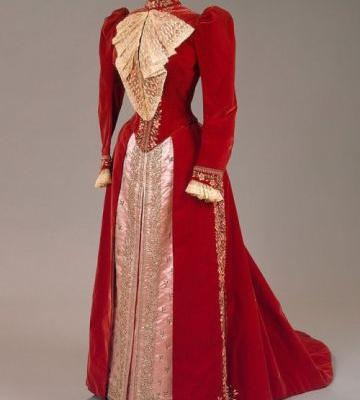 Dress worn by Maria Feodorovna House of Worth1890sState