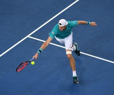 Isner chopped down by Ebden in American wipeout