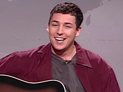 Watch Adam Sandler Sing About Being Fired From Saturday Night Live