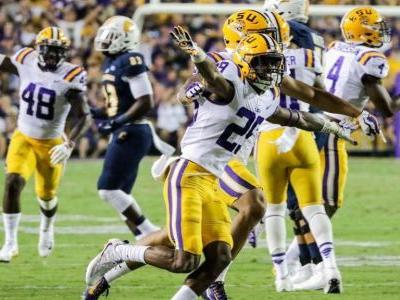 LSU's Greedy Williams leads list of top 10 defensive backs in college football