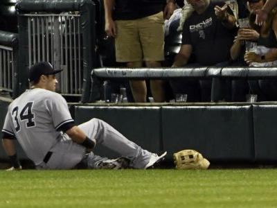 Former Yankees OF Dustin Fowler sues White Sox over injury