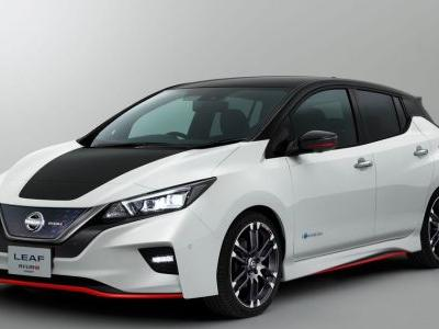 Here's A Closer Look At Nissan's Leaf Nismo Concept
