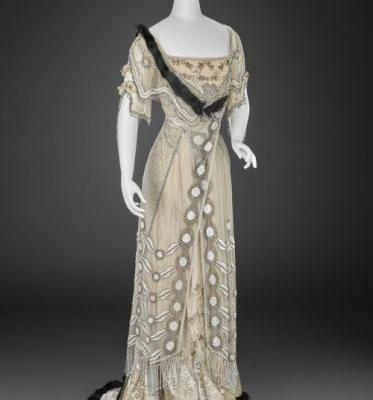 Evening Dress Girolamo Giuseffi 1908-1915Indianapolis Museum