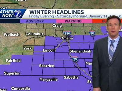 Snow likely in Omaha Friday evening through Saturday morning