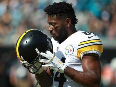 NFL, Antonio Brown may have found a compromise in ongoing helmet dispute, report says