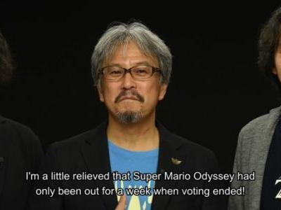 Breath Of The Wild Wins Golden Joystick Ultimate Game Of The Year Award, See Aonuma's Acceptance Speech Here