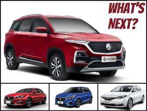 MG Hector India Price Reveal Soon 3 More SUVs To Follow