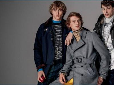The Busy Crowd: Adrien Sahores, Leon Dame & Kerkko Sariola for Fay Fall '18 Campaign