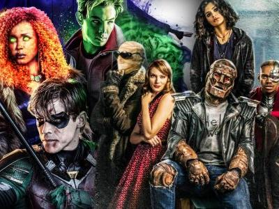 How Doom Patrol Connects To Titans In The DC Universe Timeline