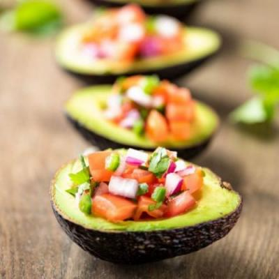 Deconstructed Guacamole Boats