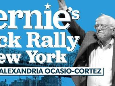 WATCH LIVE: Bernie Sanders Holds First Campaign Rally Since Suffering Heart Attack, AOC to Speak