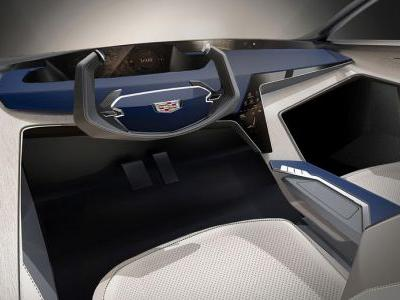 Cadillac CTS Interior Designed With The Year 2025 In Mind
