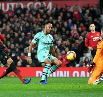Arsenal 'deserved to win' against Manchester United, Aubameyang claims