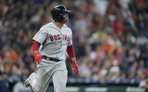 Devers homers, Red Sox avoid sweep with 4-1 win over Astros