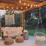 17 Pretty Ways to Decorate Your Patio With Christmas Lights Year-Round