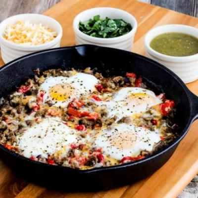 Chester's Low-Carb SW Egg Skillet