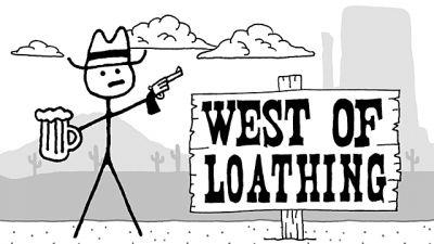 West Of Loathing: One of the Year's Best Games is Made of Stick Figures