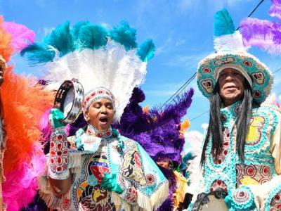 In New Orleans, 'Indian Red' Is The Anthemic Sound Of Tradition