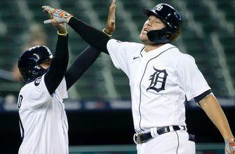 JaCoby Jones hits inside-the-park home run to lead Tigers past White Sox, 5-1