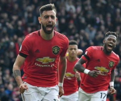 Fernandes on the spot as Man Utd climb to fifth