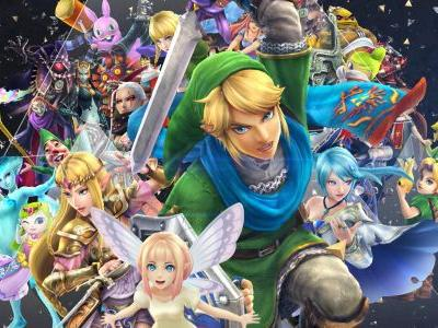 I have all these great Nintendo Switch games but I can't stop playing Hyrule Warriors: Definitive Edition