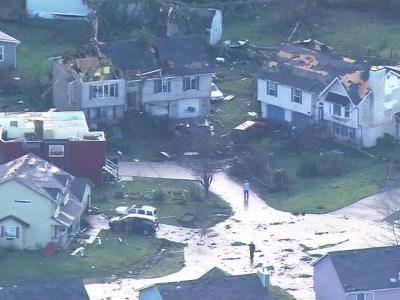 'I thought I was a goner': Rare tornado damages homes in Washington state
