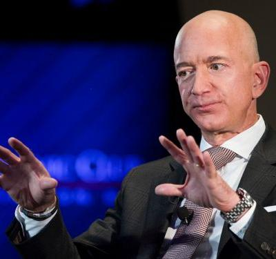 Jeff Bezos' fortune plummeted $9.1 billion after Amazon was crushed in the stock market rout