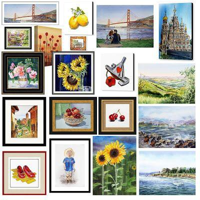 Month Of August Bestselling Paintings