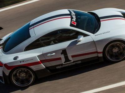 Audi Races To SEMA With TT Clubsport Turbo Concept And Sport Performance Parts