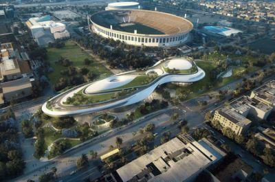 George Lucas' futuristic Museum of Narrative Art will land in Los Angeles