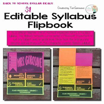 30 Fresh Course Syllabus Template for Teachers Pictures
