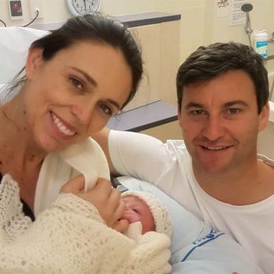 New Zealand's Prime Minister gave birth in office, and is now first ever world leader on maternity leave